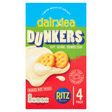 Dairylea Dunkers Cheese Dip with Ritz 4 Pack 184g