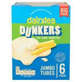 Dairylea Dunkers Jumbo Tubes 6 Pack 270g