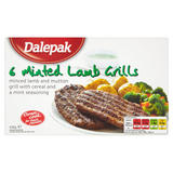 Dalepak 6 Minted Lamb Grills 438g