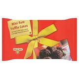 Dan Cake Mini Rum Truffle Cakes 140g