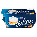 Oykos Luxury Greek-Style Peach Yogurt 4 x 110g (440g)