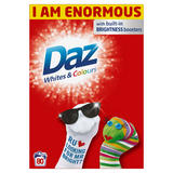 Daz Washing Powder Whites & Colours 5.2Kg 80 Washes