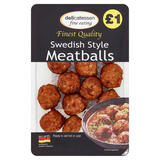 Delicatessen Fine Eating Swedish Style Meatballs 200g