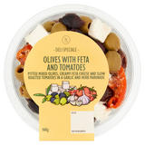 Global Deli Be Inspired Olives with Feta Cheese & Tomatoes 200g