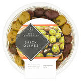 Global Deli Be Inspired Chilli & Garlic Olives 200g