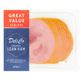 Deli Co Crumbed Lean Ham 13 Slices 270g