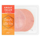 Deli Co Honey Cured Lean Ham 14 Slices 300g