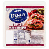Henry Denny & Sons 8 Slices Crumbed Ham 90g