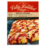 Detroit Style Fully Loaded Pizza Buffalo Chicken with Fiery Hot Sauce 740g