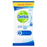 Dettol Antibacterial Surface Cleaning Wipes, Pack of 84