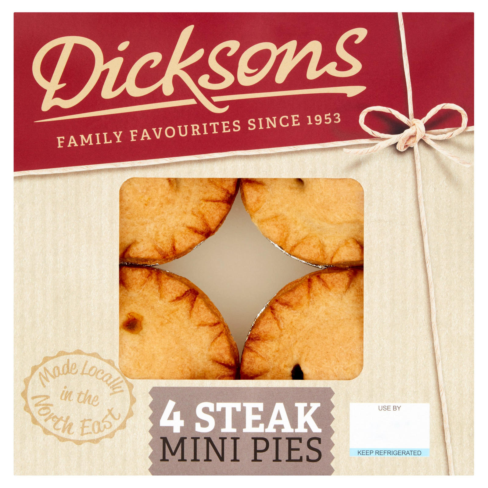 Dicksons 4 Steak Mini Pies 376g | Pies & Quiches | Iceland ...
