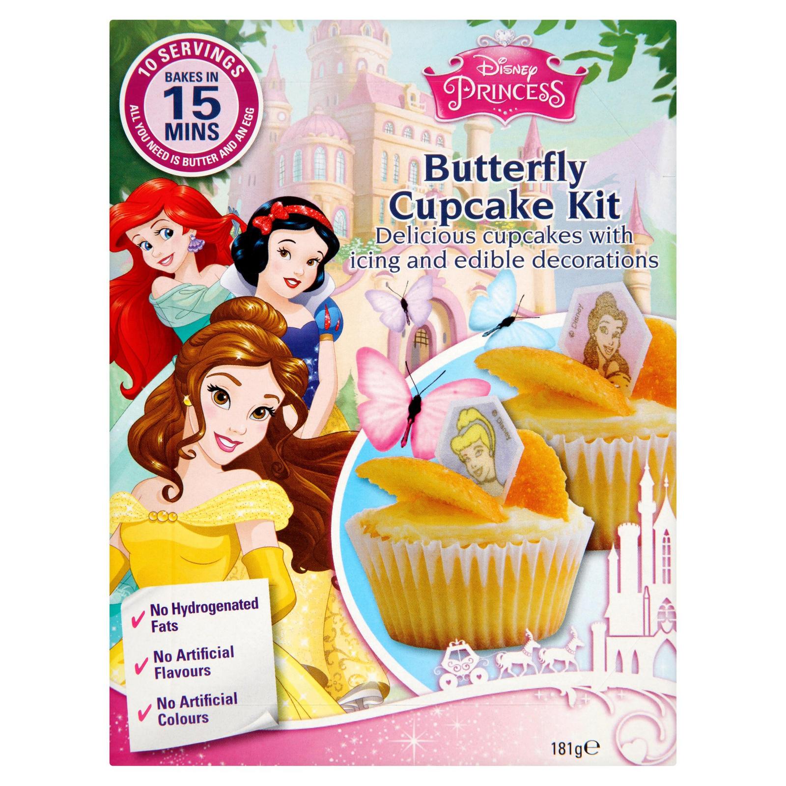 Disney Princess Butterfly Cupcake Kit 181g