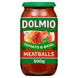 Dolmio Meatball Tomato and Basil Pasta Sauce 500g