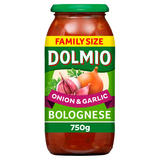 Dolmio Bolognese Onion and Garlic Pasta Sauce 750g