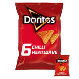 Doritos Chilli Heatwave Tortilla Chips 6x30g