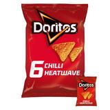 Doritos Chilli Heatwave Tortilla Chips 6x30g