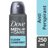 Dove Men+Care Clean Comfort Aerosol Antiperspirant Deodorant 250ml