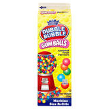 Dubble Bubble Assorted Fruit Flavours Gum Balls Refills 454g