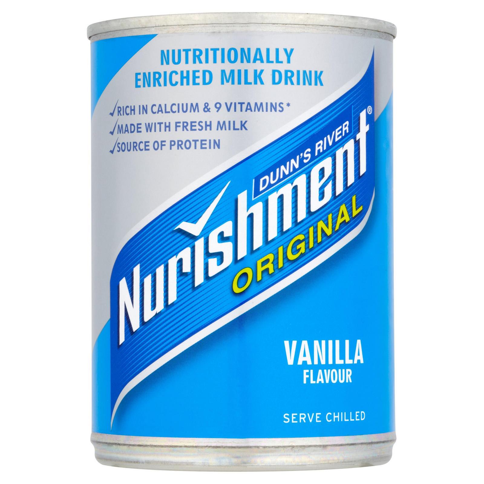 Dunn's River Nurishment Original Vanilla Flavour 400g | Iceland Foods