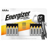 Energizer® Alkaline Power AAA Batteries, 8 Pack