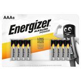 Energizer® Alkaline Power AAA Batteries, 8 Pack
