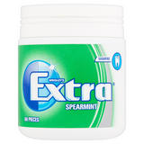 Wrigley's Extra Spearmint Sugarfree Chewing Gum 60 Pieces 84g