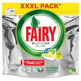 Fairy Platinum Dishwasher Tablets Lemon 100 Per Pack