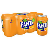 Fanta Orange 8 x 330ml