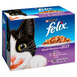 Felix Mixed Selection in Jelly 12 x 100g
