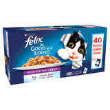Felix As Good As It Looks Cat Food Mixed 40 x 100g