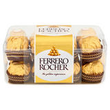 Ferrero Rocher Box of Chocolate 16 Pieces (200g)