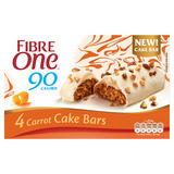 Fibre One 90 Calorie Carrot Cake Bars 4x25g