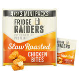 Fridge Raiders Slow Roasted Chicken Bites Mini Packs 4 x 22.5g