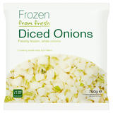 Frozen from Fresh Diced Onions 750g