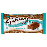 Galaxy 5 Salted Caramel Festive Cake Bars