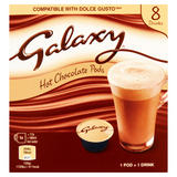 Galaxy Hot Chocolate Pods 8 x 17g (136g)