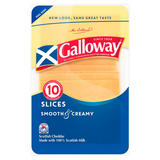 Galloway Scottish Cheddar 10 Slices 200g