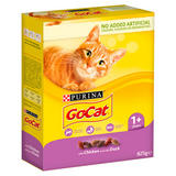 Go-Cat Adult Dry Cat Food Chicken and Duck 825g