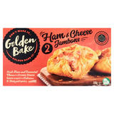 Golden Bake 2 Ham & Cheese Jambons 220g