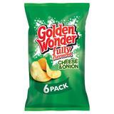 Golden Wonder Fully Flavoured Cheese & Onion 6 x 25g