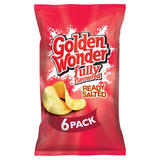 Golden Wonder Fully Flavoured Ready Salted 6 x 25g