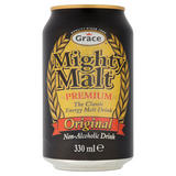 Grace Mighty Malt Premium Original Non-Alcoholic Drink 330ml