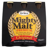 Grace Mighty Malt Premium Original Drink 6 x 330ml