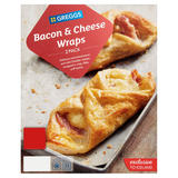 Greggs 2 Bacon & Cheese Wraps 194g