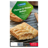 Greggs 2 Cheese & Onion Bakes 288g