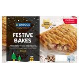 Greggs Limited Edition 2 Festive Bakes 316g