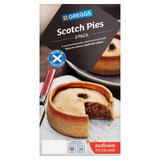 Greggs 2 Scotch Pies 282g