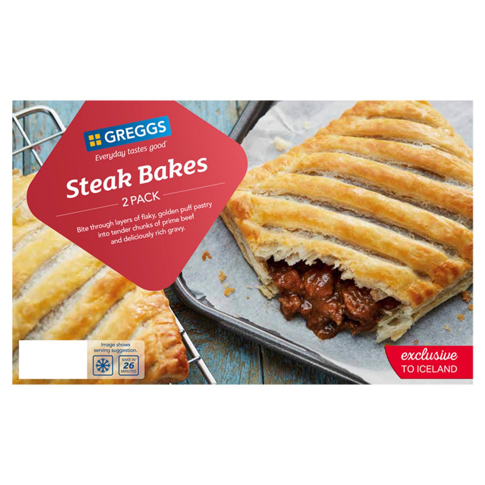 Greggs Steak Bakes 280g | Greggs | Iceland Foods