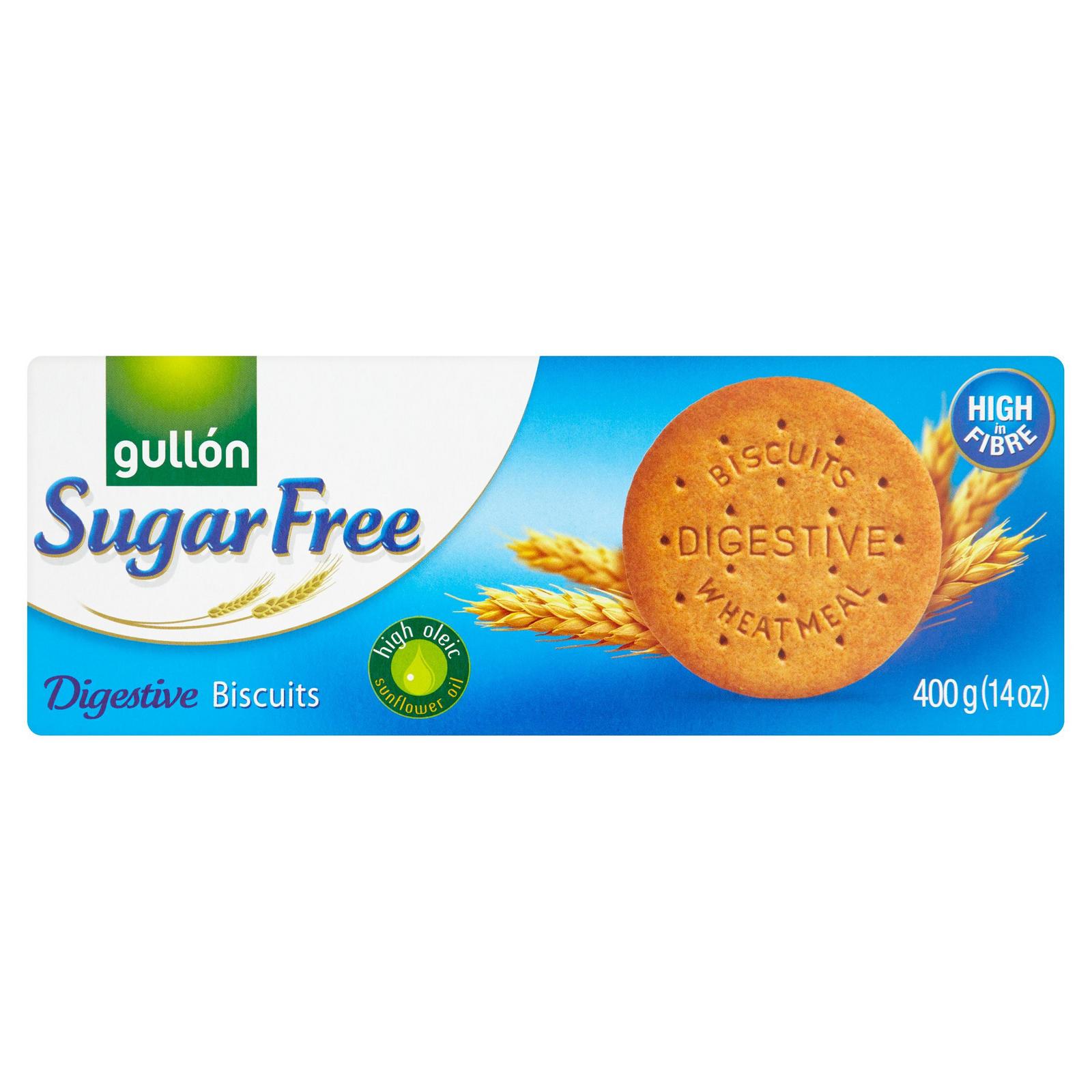Gullón Sugar Free Digestive Biscuits 400g Sweet Biscuits