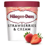 Häagen-Dazs Strawberries & Cream Ice Cream 460ml